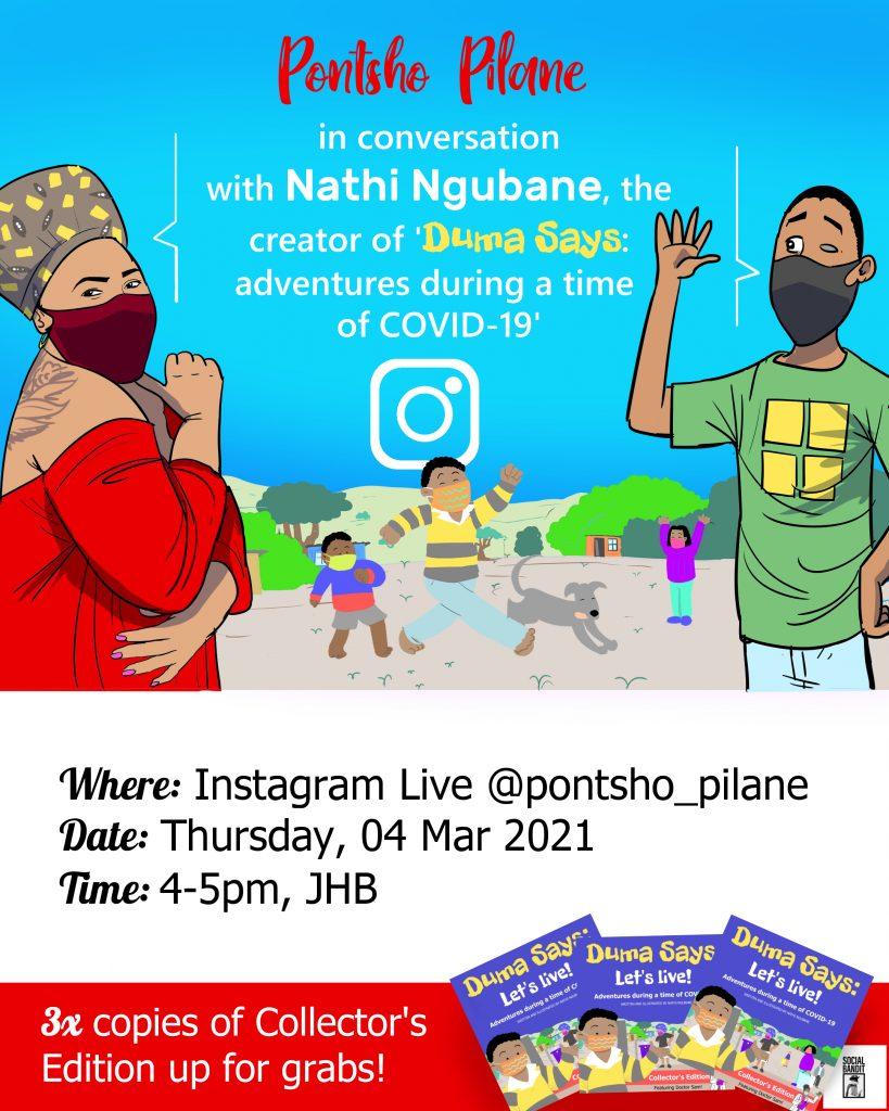 Pontso Pilane and Nathi Ngubane
